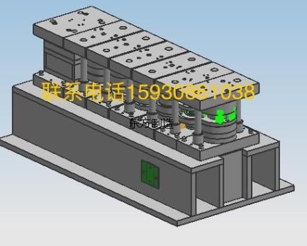 軸承座沖壓模具